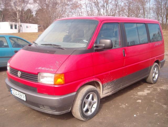 nasz VW T4 Multivan