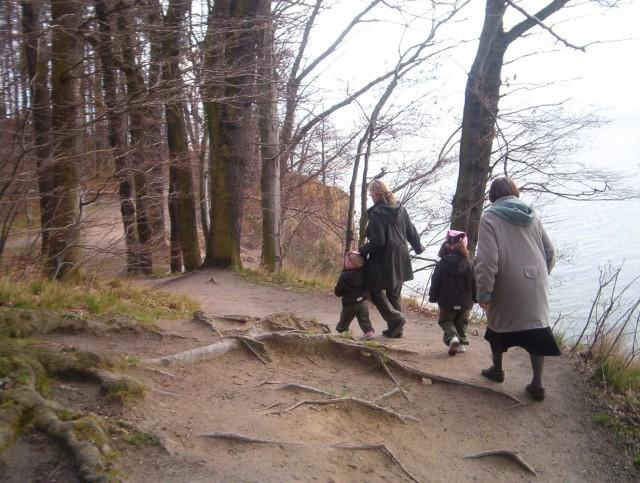 wycieczka na Orłowski Klif