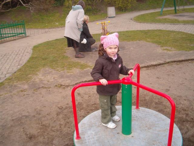 plac zabaw w Orłowie