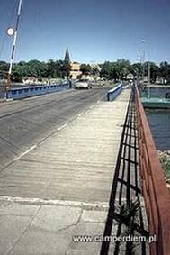 most na Wyspę Sobieszewską