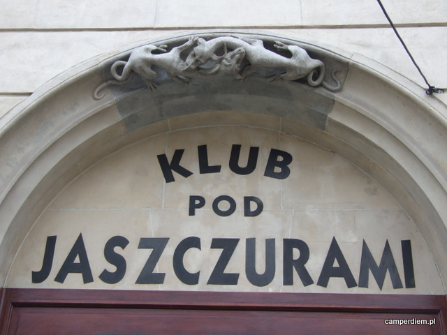 smok spod klubu 'Pod Jaszczurami'