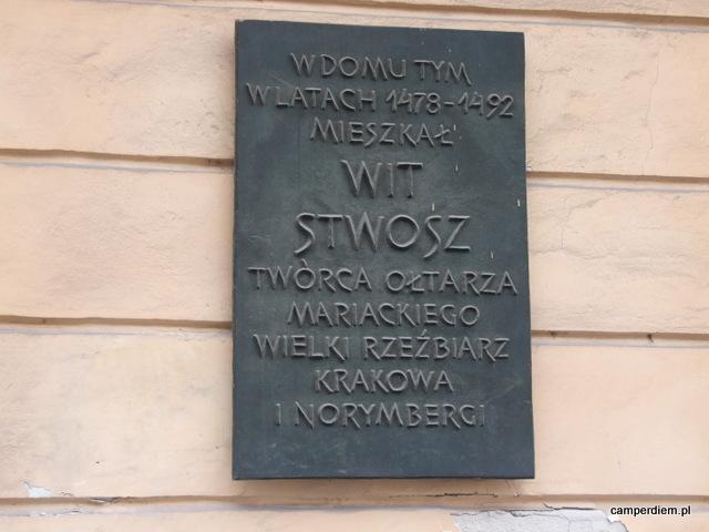 tablica Wita Stwosza