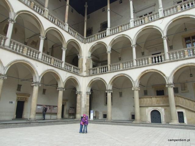 dziedziniec Zamku Wawelskiego