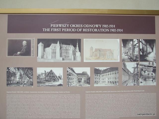 odbudowa Wawelu