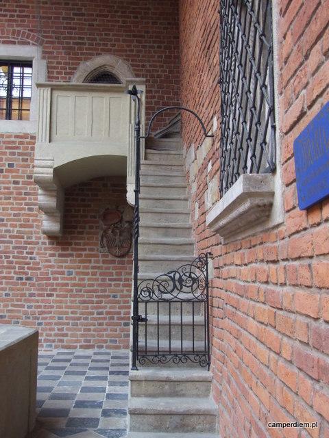 dziedziniec Collegium Maius