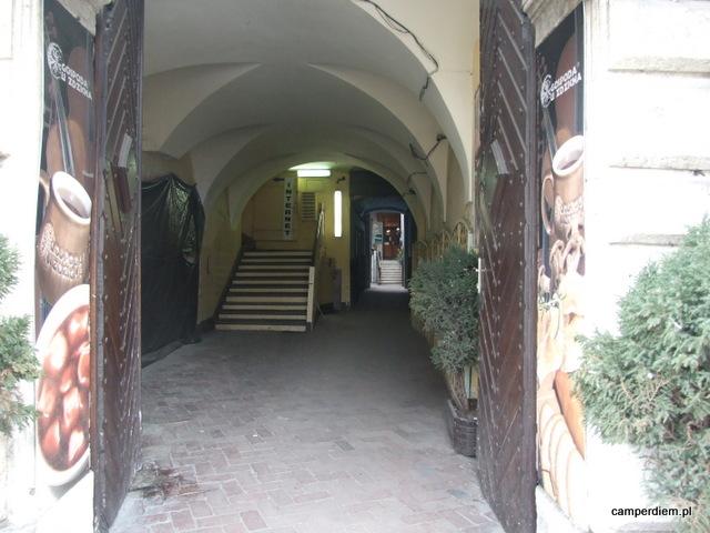 zaułki Krakowa