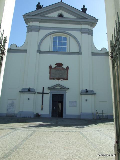 kościół NMP w Węgrowie