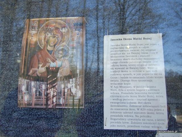 historia ikony Matki Boskiej Iwerskiej