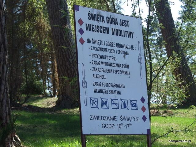 reguły zwiedzania Świętej Góry Grabarki