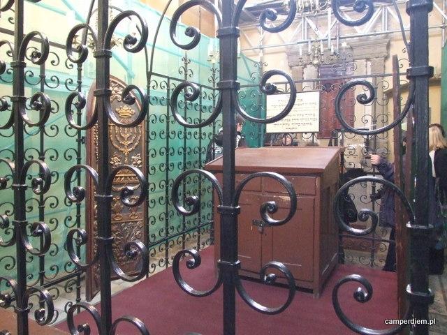 w Synagodze Remuh