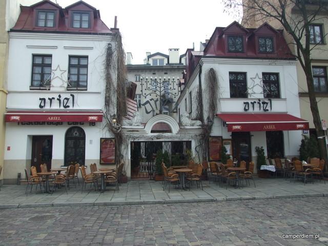 restauracja Ariel na Kazimierzu