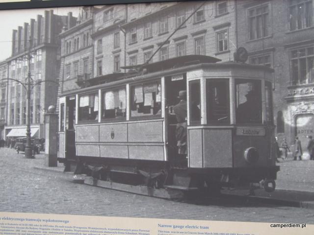 historia tramwaju w Krakowie