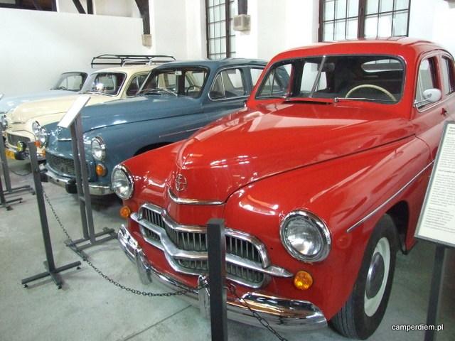 wystawa motoryzacji w Muzeum Inżynierii Miejskiej