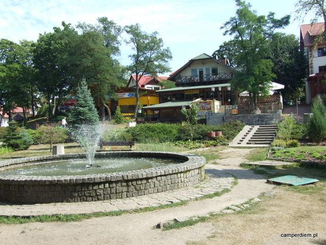 park miejski w Krynicy Morskiej