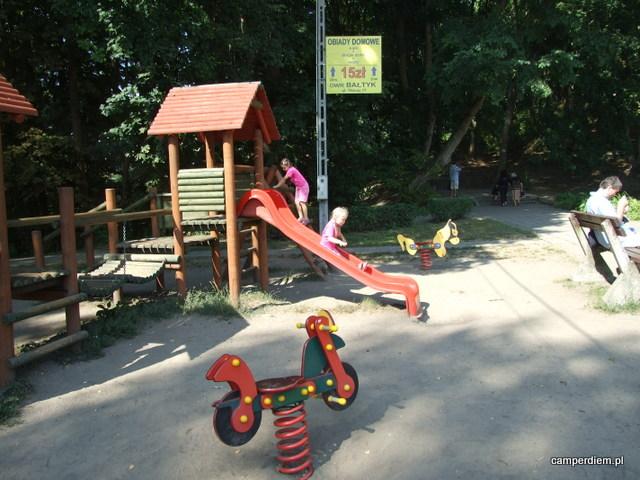 plac zabaw w Krynicy