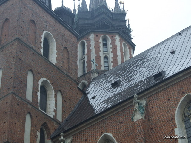machający trębacz z kościoła Mariackiego