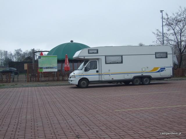 parking pod szybem  Campi w Bochni