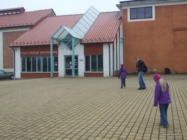 Bochnia - wejście do kopalni