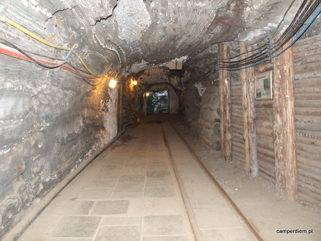 kopalniany korytarz