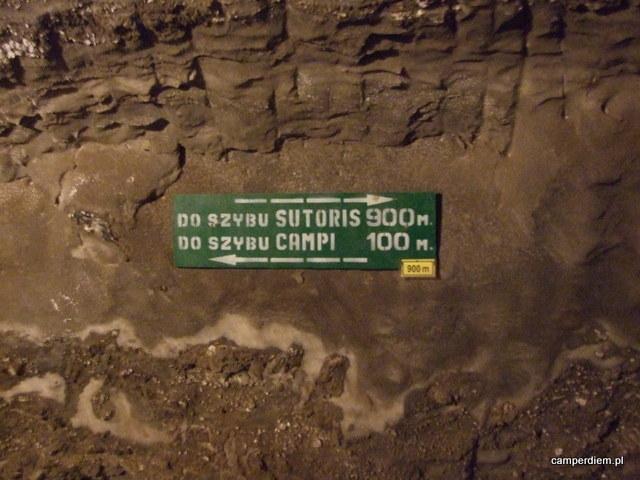 podziemny drogowskaz