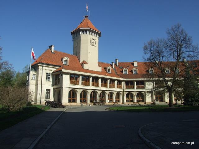 dziedziniec zamku w Pułtusku