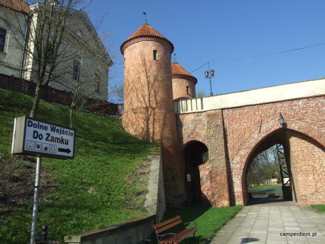 dolna brama zamku w Pułtusku