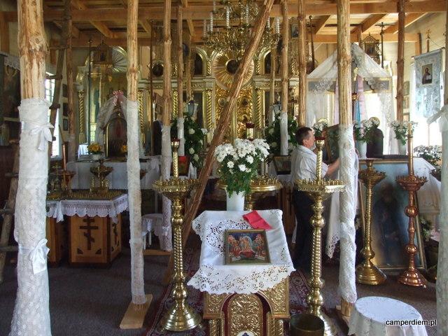 w cerkwi w Tokarach-Koterce