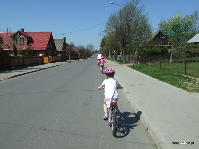 przejażdżka wokół Białowieży