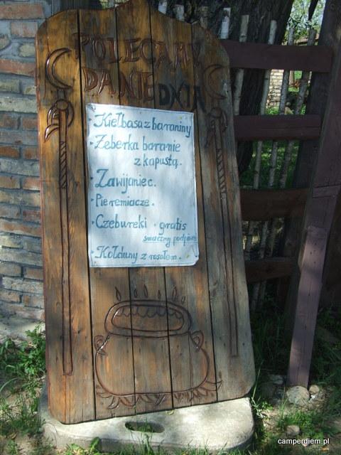 tatarska kuchnia w Zajeździe na Krańcu Świata