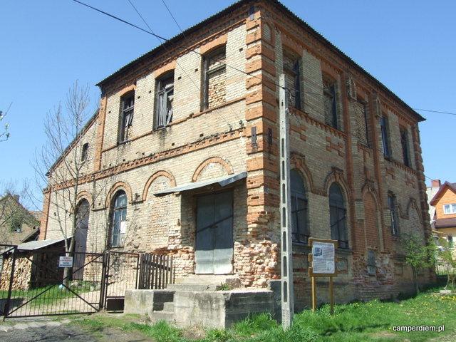 Bożnica Słonimskich Chasydów w Krynkach