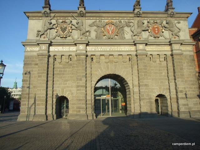 Brama Wyżynna w Gdańsku