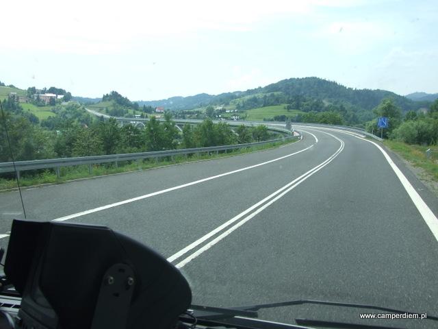droga do granicy w Zwardoniu