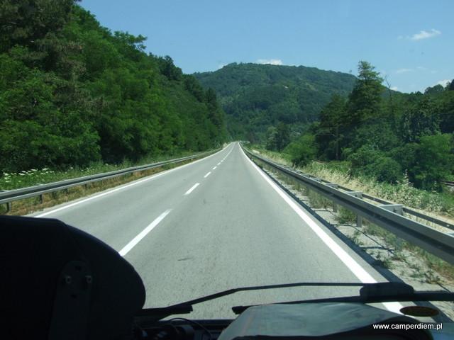droga przez Macedonię