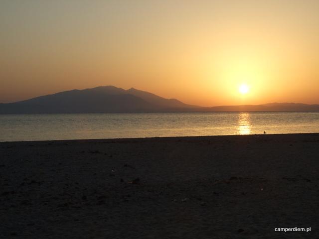 wschód słońca w Stavros