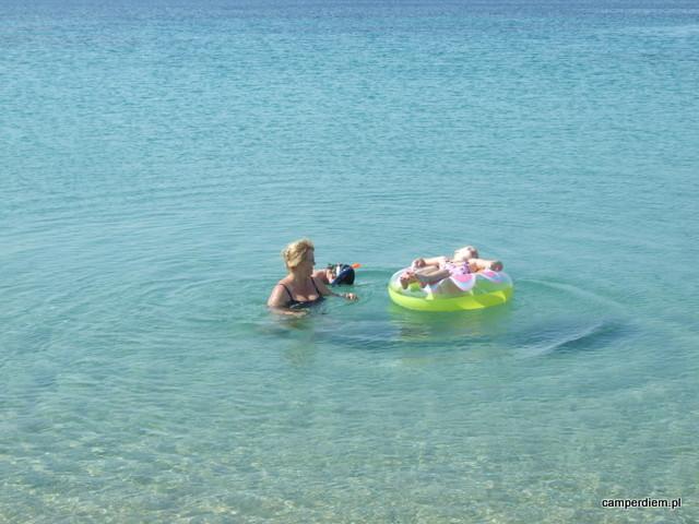 plaża w Nea Roda