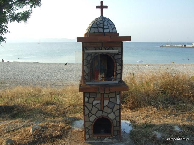 kapliczka w Nea Roda