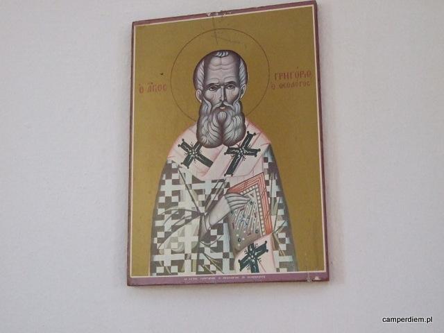św. Mikołaj w cerkwi w Nea Roda