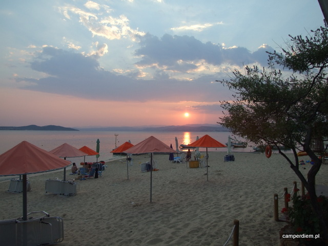 camping Ouranopouli - plaża