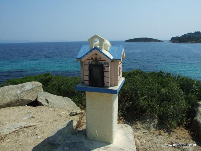 kapliczka w Ormos Panagias