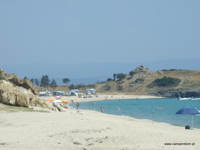 plaża w Ormos Panagias