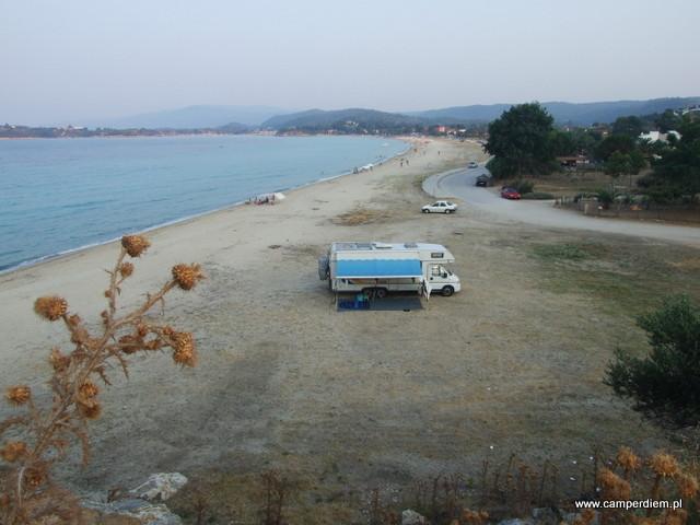 nasz kamper w Ormos Panagias