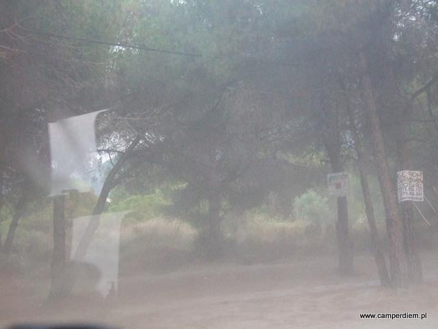 burza piaskowa w Karidi