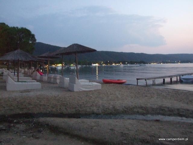 kraniec plaży Vourvourou
