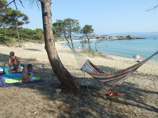 raj na plaży Karidi