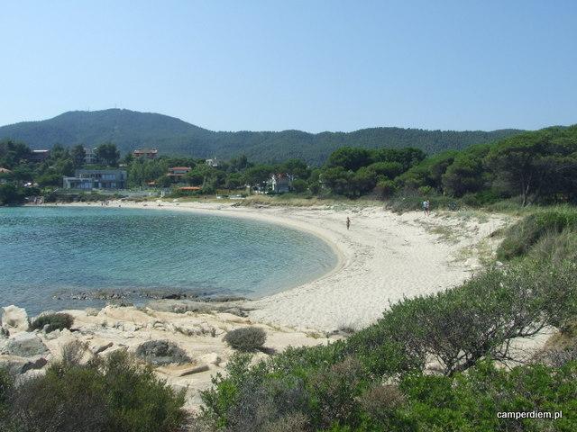 okolice plaży Karidi