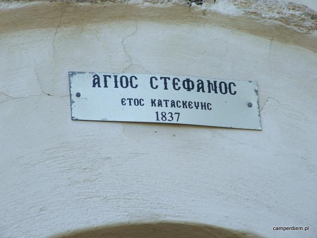 kosciol Ag. Stefanos w Parthenonas