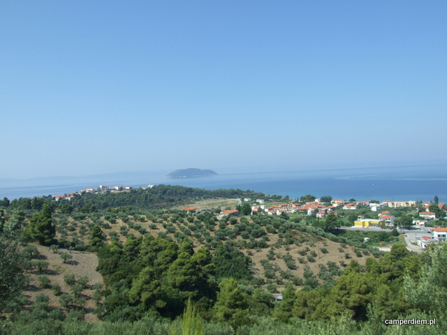 krajobraz Sithoni