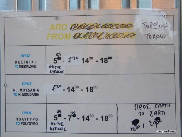 rozkład jazdy autobusów w Toroni