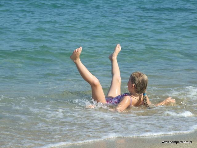 plaża Sykia