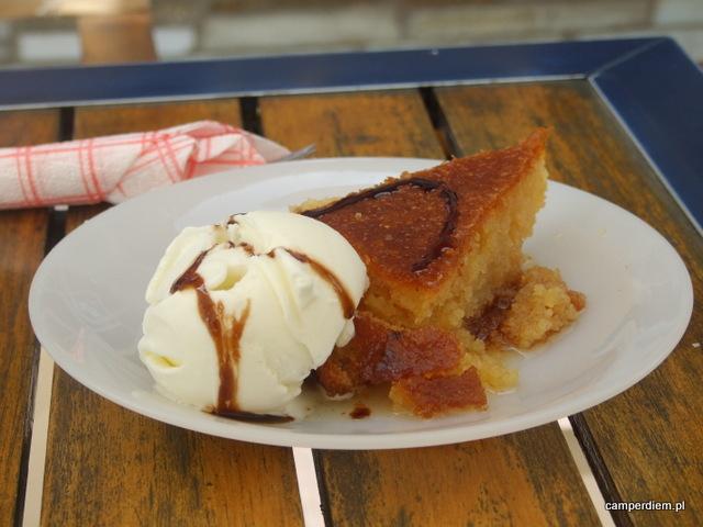 greckie słodkości w Ormos Panagias
